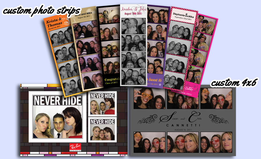 Dallas Photo Booth Photo Strips